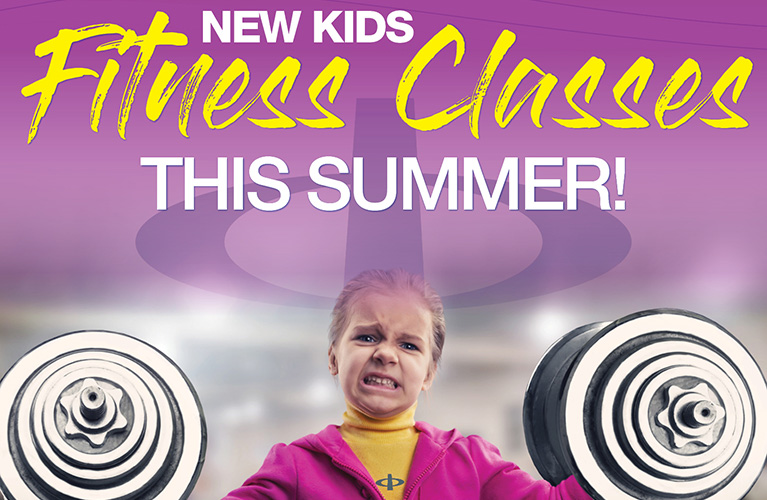 New Kids Fitness Classes This Summer!